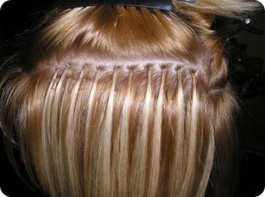 Hair Bonding Hair Extensions